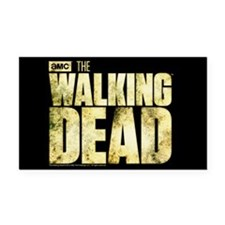 The Walking Dead Rectangle Car Magnet