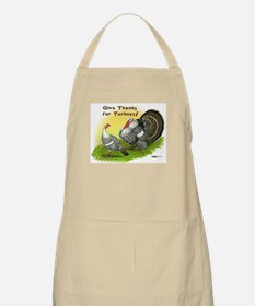 Give Thanks For Turkeys! BBQ Apron