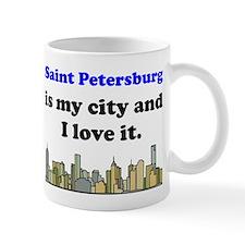 Saint Petersburg Is My City And I Love It Mug