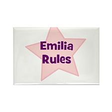 Emilia Rules Rectangle Magnet