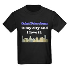 Saint Petersburg Is My City And I Love It T-Shirt