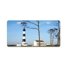 Bodie Lighthouse, Bodie Isl Aluminum License Plate