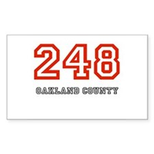248 Rectangle Decal