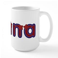 Jenna Red Caps Mug