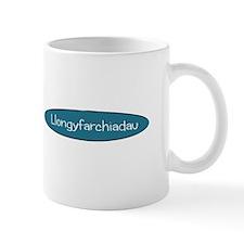 Llongyfarchiadau Small Mug