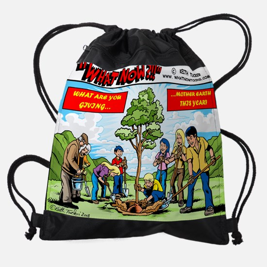 Mother (Earth ) Day Drawstring Bag