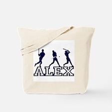 Baseball Alex Personalized Tote Bag