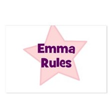 Emma Rules Postcards (Package of 8)