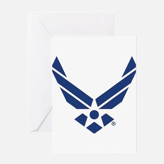 U.S. Air Force Logo Greeting Card