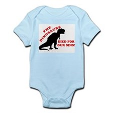 Dinosaurs Died For Our Sins Body Suit