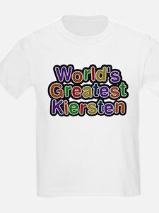 Worlds Greatest Kiersten T-Shirt