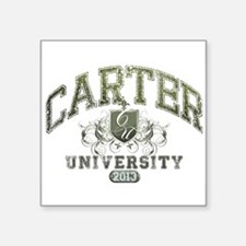 Carter Last Name University Class of 2013 Sticker