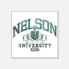 Nelson Last Name University Class of 2013 Sticker