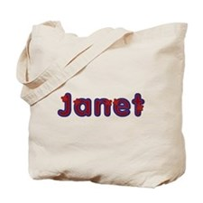 Janet Red Caps Tote Bag