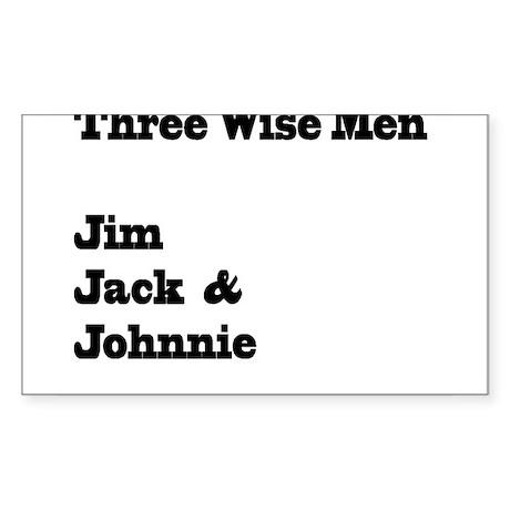 Three Wise Men Sticker