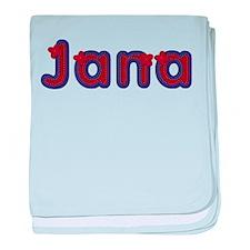 Jana Red Caps baby blanket