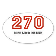 270 Oval Decal