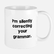 Funny Grammar Small Mugs