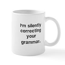 Funny Grammar Small Mugs