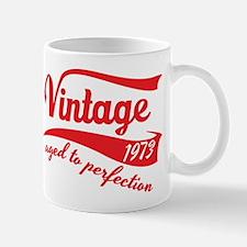 Vintage 1973 aged to perfection 40th birthday Mug