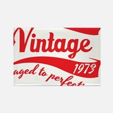 Vintage 1973 aged to perfection 40th birthday Rect