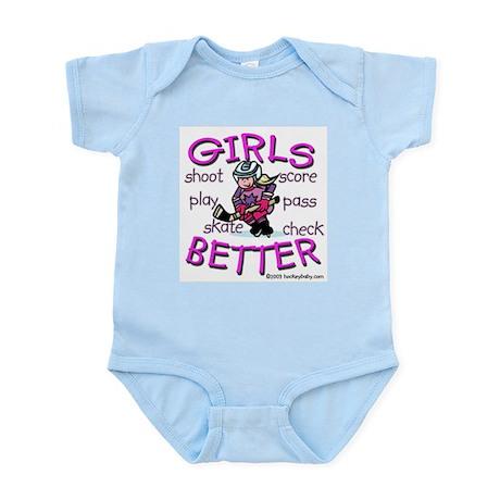 Girls Are Better Infant Creeper