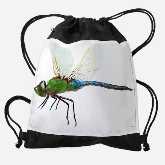 dragonfly_3_large_poster.jpg Drawstring Bag