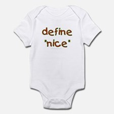 Define nice Infant Bodysuit