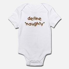 Define naughty Infant Bodysuit