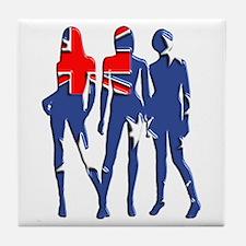 Hot Australia Tile Coaster