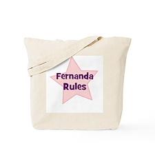 Fernanda Rules Tote Bag