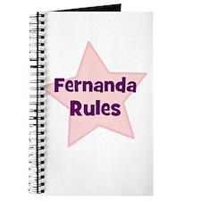 Fernanda Rules Journal