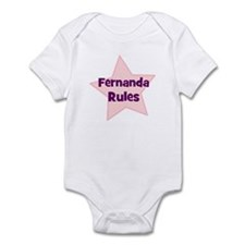 Fernanda Rules Infant Bodysuit