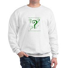 Answers Sweatshirt