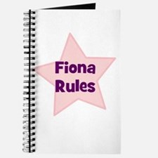 Fiona Rules Journal