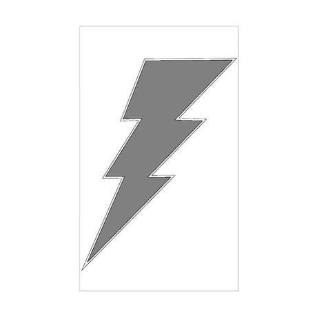 The Lightning Grey Shop Rectangle Sticker