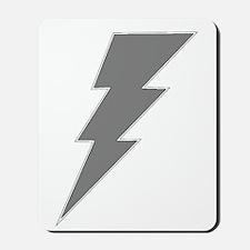 The Lightning Grey Shop Mousepad