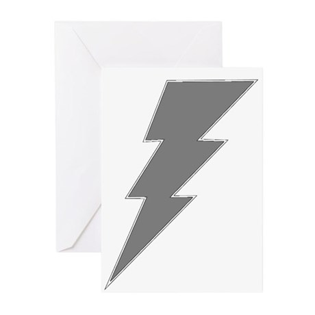 The Lightning Grey Shop Greeting Cards (Package of