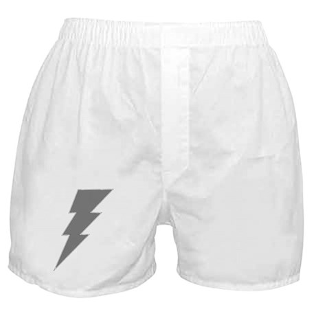 The Lightning Grey Shop Boxer Shorts