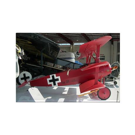 The Fokker DR 1 Shop Rectangle Magnet (100 pack)