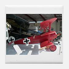 The Fokker DR 1 Shop Tile Coaster