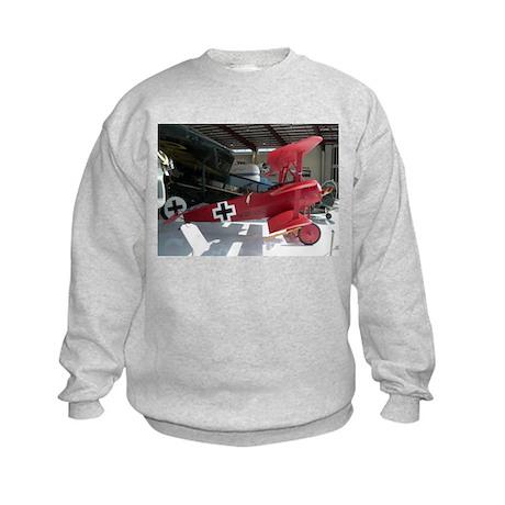 The Fokker DR 1 Shop Kids Sweatshirt