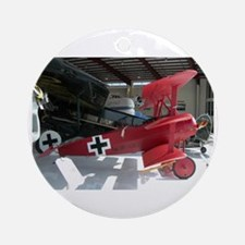 The Fokker DR 1 Shop Ornament (Round)
