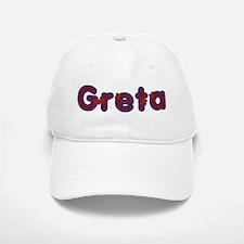 Greta Red Baseball Baseball Caps Baseball Baseball Baseball Cap