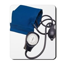 Blood pressure cuff with gauge Mousepad