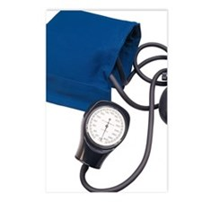 Blood pressure cuff with  Postcards (Package of 8)