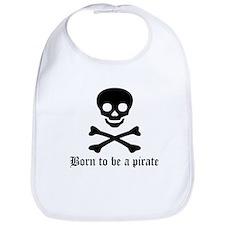 Pirate: Born to be a pirate Bib