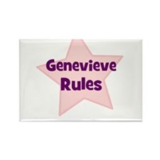 Genevieve Rules Rectangle Magnet