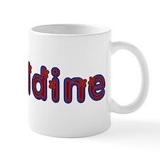 Geraldine Red Caps Mug