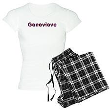 Genevieve Red Caps Pajamas